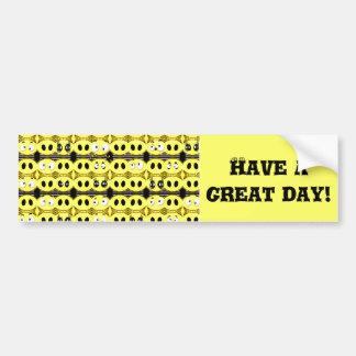 I'm Happy!_ Bumper Sticker