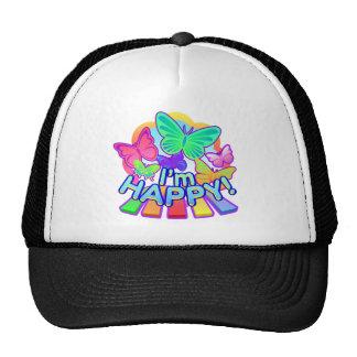 I'm Happy! dark Trucker Hat