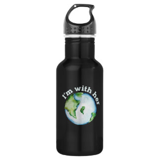 i'm her earth 532 ml water bottle