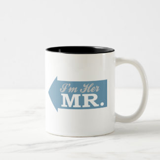 I'm Her Mr. (Blue Arrow) Coffee Mug