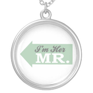 I'm Her Mr. (Green Arrow) Personalized Necklace