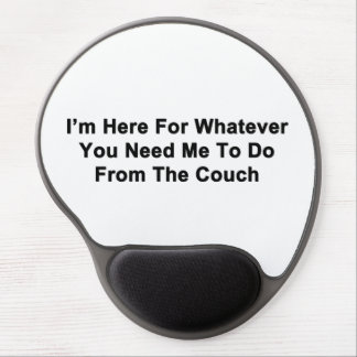 I'm Here For You Gel Mouse Pad
