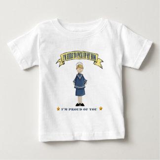 I'm Here To Pick Up My Mom (Navy) Baby T-Shirt