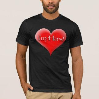 """""""I'm Hers"""" t-shirt"""