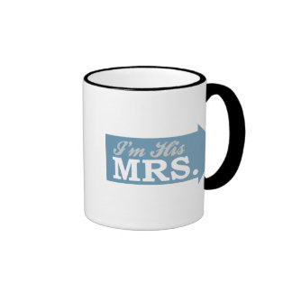 I'm His Mrs. (Blue Arrow) Mugs
