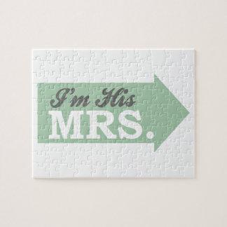 I'm His Mrs. (Green Arrow) Puzzle