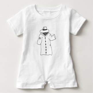 I'm Human-- Really! Baby Romper