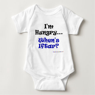 I'm Hungry.. When's Iftar? Baby Bodysuit