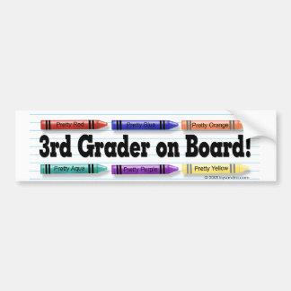 I'm in 3rd Grade! Bumper Sticker