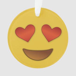 I'm in like with you emoji ornament