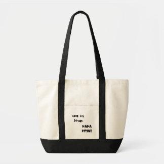 I'm in love to I.M Impulse Tote Bag
