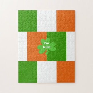 I'm Irish Flag of Ireland Optional Words Puzzles