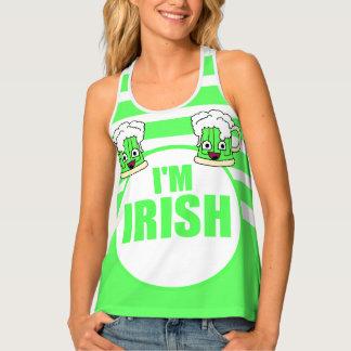 I'm Irish with Green Beer Tank Top