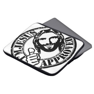 I'm Jesus Approved Laptop Cover