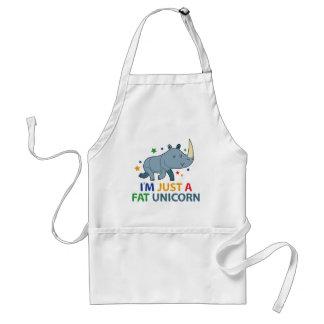 I'm Just A Fat Unicorn Standard Apron
