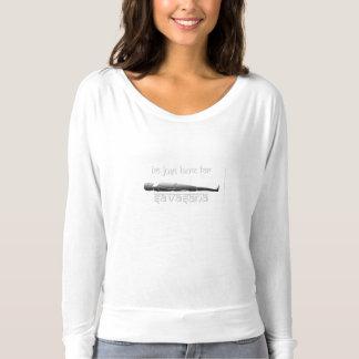 I'm Just Here for Savasana T-shirt
