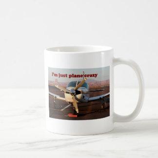 I'm Just Plane Crazy: Aircraft, Page, Arizona, USA Coffee Mug