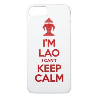 I'm Lao I Can't Keep Calm Case-Mate iPhone Case