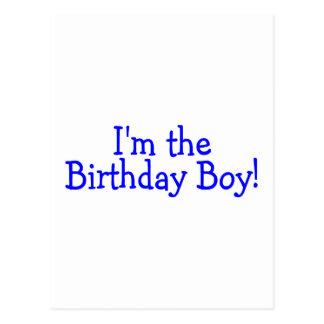 Im le bleu de garçon d anniversaire cartes postales