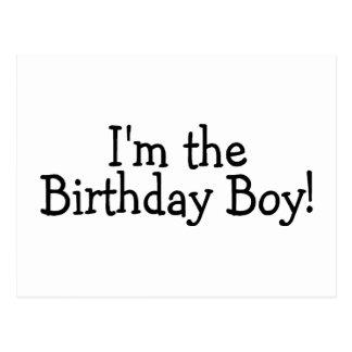 Im le garçon d anniversaire cartes postales