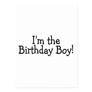 Im le garçon d'anniversaire carte postale