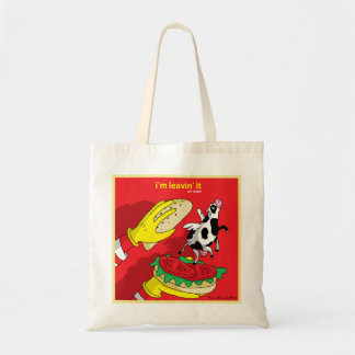I'm Leavin' It - Go Vegan Bag