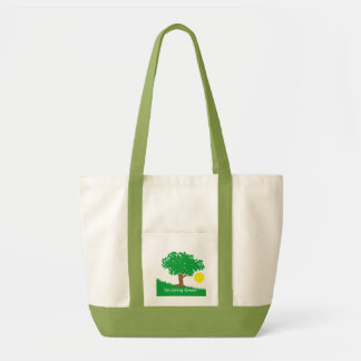 I'm Living Green Impulse Tote Bag