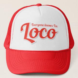 I'm Loco Bold Trucker Hat