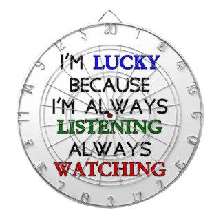 I'm Lucky Dartboard