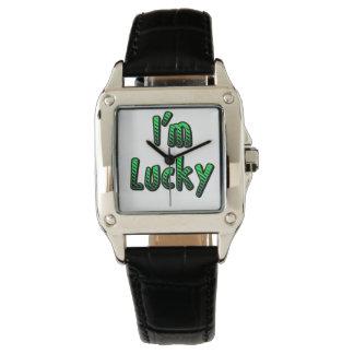 I'm Lucky Wrist Watch