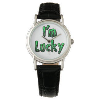 I'm Lucky Wrist Watches