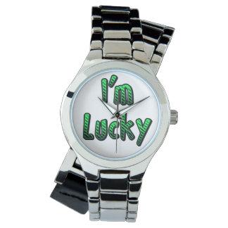 I'm Lucky Wristwatch