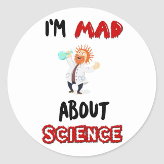 Im mad about science Protest March Sticker