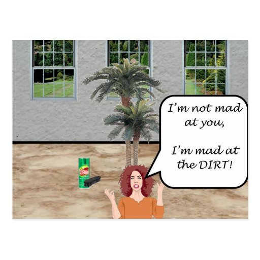 I'm Mad at the Dirt! Postcards