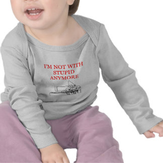 i'm mnot with stupid divorce joke t-shirts