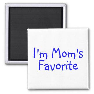 Im Moms Favorite Blue Square Magnet
