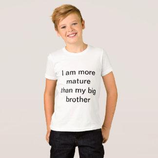 I'm more mature t-shirt