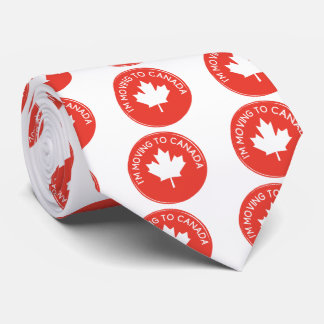 I'm moving to Canada because of President Trump Tie