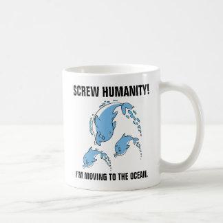 I'm moving to the ocean coffee mug
