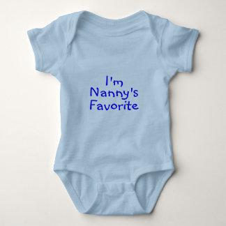 Im Nannys Favorite Blue Baby Bodysuit