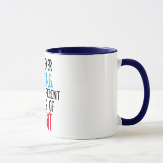 i'm never wrong funny mug design
