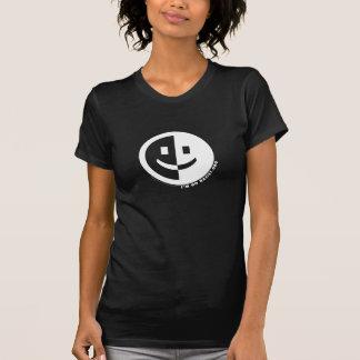 I'm No Racist Round Woman's T (black) T-Shirt