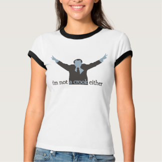 i'm not a crook either - Blue T-Shirt