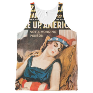 I'm not a morning person All-Over-Print tank top
