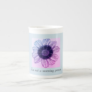 """I'm not a morning person person"" cofee mug"