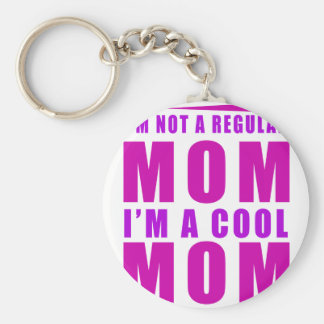 I'm not a regulus mom i'm cool mother basic round button keychain