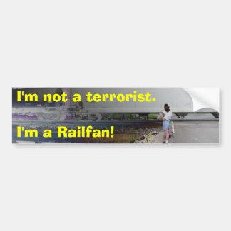 I'm not a terrorist. I'm a Raifan! Bumper Sticker