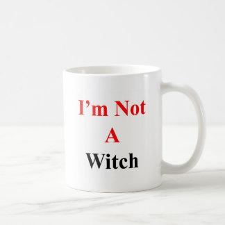 I'm not a witch coffee mug