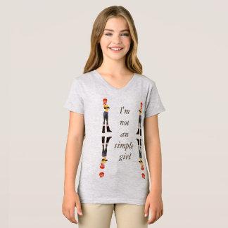 I'm not an simple girl T-Shirt