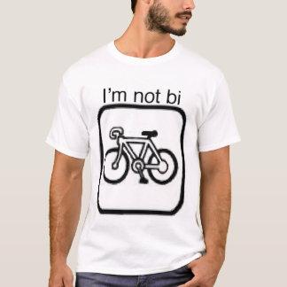 Im not bi unicycle shirt